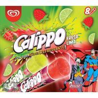 Lima-limón-fresa CALIPPO, pack 8x105 ml