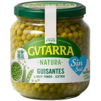 Guisante sin sal GUTARRA, frasco 360 g