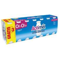 Actimel para beber desnatado 0% natural DANONE, pack 14x100 ml