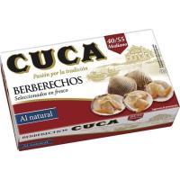 Berberecho 40/50 piezas CUCA, lata 63 g