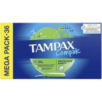 Tampón super TAMPAX, caja 36 unid.