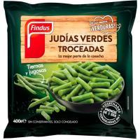 Judía verde troceada FINDUS, bolsa 400 g