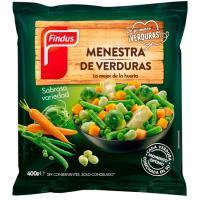 Menestra de verdura FINDUS, bolsa 400 g