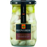 Ajos suaves en aceite de oliva RIOVERDE, frasco 120 g