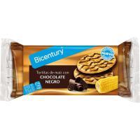 Tortitas de maíz con chocolate NACKIS, paquete 90,40 g