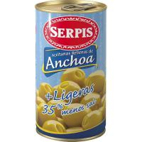 Aceitunas rellenas ligeras EL SERPIS, lata 150 g