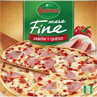 Pizza masa fina de jamón-queso BUITONI, caja 320 g