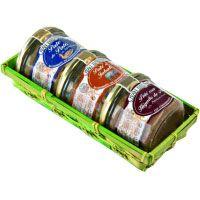 Paté en cesta J. BRUNET, pack 3x180 g