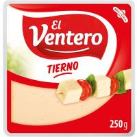 Queso tierno El VENTERO, cuña 250 g