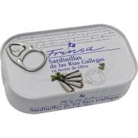 Sardinilla de rías gallegas en a. de oliva FRINSA, lata 125 g