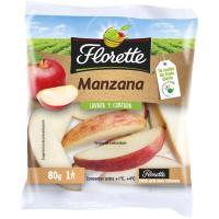 Snack Manzana FLORETTE, bolsa 80 g