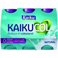 Benecol Zero para beber natural KAIKU, pack 6x65 ml