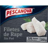 Filetes de rape PESCANOVA, caja 250 g