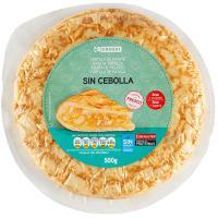 Tortilla fresca sin cebolla EROSKI, 1 unid., 500 g