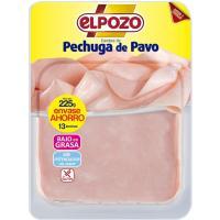 Pechuga de pavo ELPOZO, bandeja 250 g