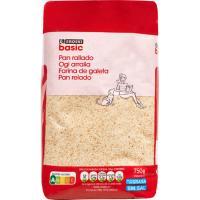 Pan rallado EROSKI basic, paquete 750 g
