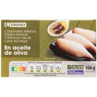 Chipirón en aceite de oliva EROSKI, lata 111 g