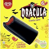 Helado Drácula FRIGO, pack 6x54 ml