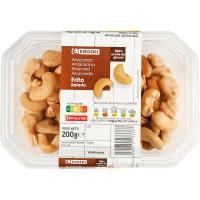 Anacardos fritos EROSKI, tarrina 200 g