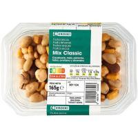 Cócktel de frutos secos Clásico EROSKI, tarrina 165 g