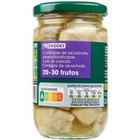 Alcachofa natural 20/30 piezas EROSKI, frasco 175 g
