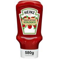 Ketchup ecologico HEINZ, bocabajo 580 gr