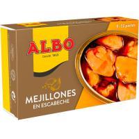 Mejillón en escabeche 10/14 piezas ALBO, lata 115 g