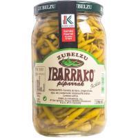 Guindilla de Ibarra selecta Eusko Label ZUBELZU, frasco 725 g