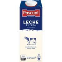 Leche Entera PASCUAL, brik 1 litro