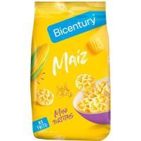 Tortitas de maíz mini BICENTURY, paquete 100 g