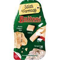 Salsa 4 quesos BUITONI, tarrina 140 g