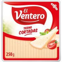 Cortaditas de queso EL VENTERO, cuña 250 g