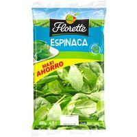 Espinaca Maxi Ahorro FLORETTE, bolsa 450 g