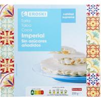 Torta imperial sin azúcar