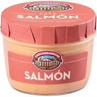 Paté de salmón CASA TARRADELLAS, frasco 125 g