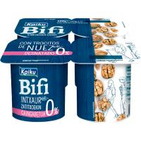 Bifi Activium 0% con nueces KAIKU, pack 4x125 g