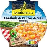 Ensalada de palitos de cangrejo-piña CARRETILLA, bol 220 g