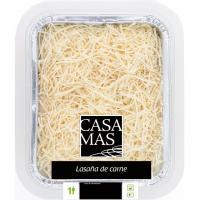 Lasaña de carne CASA MAS, bandeja 440 g