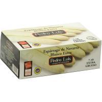 Espárrago blanco IGP Navarra 7/10 PEDRO LUIS, lata 425 g