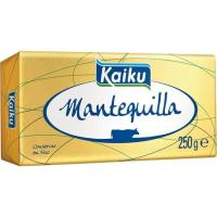 Mantequilla extra KAIKU, bloque 250 g