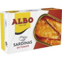 Sardina en tomate ALBO, lata 125 g
