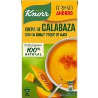 Crema fina de calabaza KNORR, brik 1 litro
