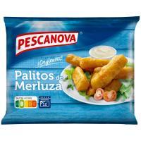 Palitos de merluza rebozados PESCANOVA, caja 300 g