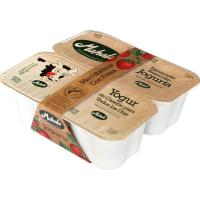 Yogur de fresa MAHALA, pack 4x125 g