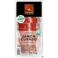 Jamón curado 1/2 loncha NAVIDUL, sobre 55 g