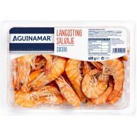 Langostino cocido de Madagascar ANGULAS AGUINAGA, bandeja 480 g