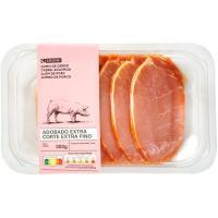 Filetes de lomo adobado de cerdo extrafino EROSKI, bandeja 300 g
