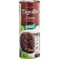 Galleta Digestive con cacao SANTIVERI, paquete 200 g