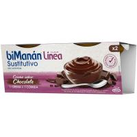 Crema de chocolate BIMANANLINEA, pack 2x210 g