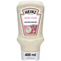 Salsa de yogur HEINZ, bocabajo 400 g